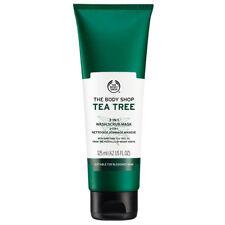 The Body Shop Tea Tree 3-IN-1 Wash.Scrub.Mask 4.2fl.oz/125ml | FREE SHIPPING