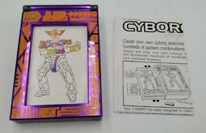 1992 Cyborg Designer Rub and Color Fashion Plates Set By Lanard Toys Ltd.