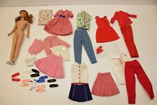 VINTAGE LOT 1965 SKOOTER DOLL #1040 Titian Cookie Time School Girl Days