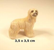 chien miniature en céramique ,collection, vitrine, hondje, dog   G-chiens-W6