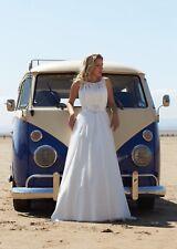 Designer Bridal Gown RRP £625 - Pure Bridal Daniela Size 14- From Bridal Shop