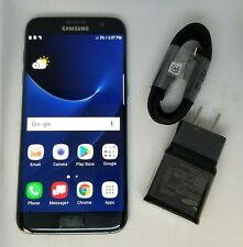 GOOD COND Samsung Galaxy S7 Edge SM-G935V -32GB-Black- (Verizon) Unlocked - 8/10
