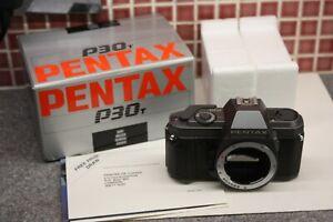 Vintage 35mm SLR Camera Body - Pentax P30T (Boxed & Mint)