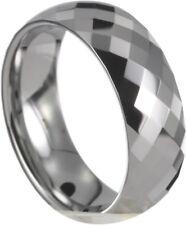 Wolframring Partner Ehering mit Gravur Tungsten 14054