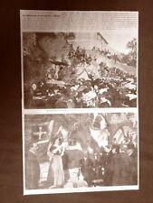 Nervi Riviera Levante nel 1907 La posa della prima pietra per un ospedale