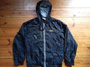 Everlast Mens Windbreaker WaterProof Jacket Hoodie size Medium