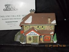 Dept. 56 New England Village - Bluebird Seed And Bulb - #56421
