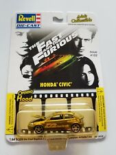 The Fast and the Furious Honda Civic by Revell. Paul walker,Vin Diesel issue#102