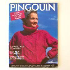 Ancien catalogue de Tricot PINGOUIN n°97 1987 - 33 Modèles Automne -
