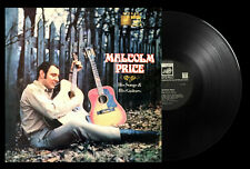 Malcolm Price His Songs & His Guitars Vinyl LP 1969 UK Album Saga FID – FID 2156