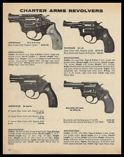 1979 Chaarter Arms Undercover 32 & 38 Special, Pathfinder, Bulldog Revolver Ad