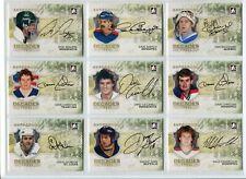 2010-11 ITG Decades 1980s Autographs  #ADH Dale Hawerchuk