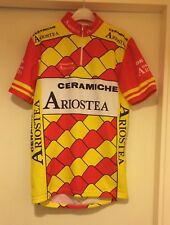 Ceramiche Aristea Vintage Cycling Jersey Top Size: Small 2 Medium.