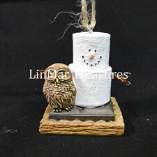 S'mores With Owl Ornament Midwest CBK