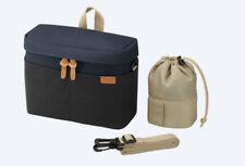 Genuine Sony Soft Carrying Case Bag for Camera LCS-BBK LCSBBK