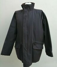 """MARKS AND SPENCER MEDIUM 38-40"""" CHEST BROWN WAXED PADDED RAIN COAT JACKET"""