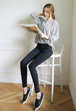 Women Thick Thermal Warm Jeans Slim Fleece Lined High Waist Stretch pencil pants