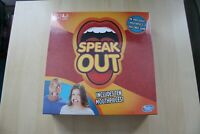 Speak Out Board Game by Hasbro with Mouthpiece 10 Mouthpieces Included New