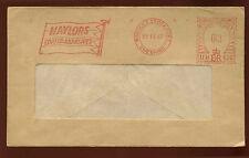Gb 1967 nalylors abrasivos revestidos máquina cancelar lema cubierta #c 15142