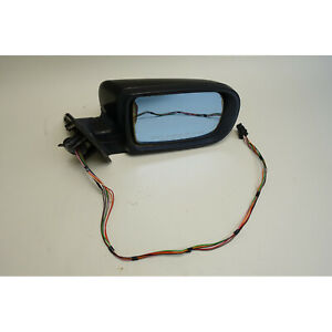 1995-2001 BMW E38 7-Series Right Outside Side Mirror Black 2 Memory Heat OEM