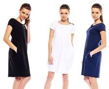 Kurzarm Damenkleider für die Freizeit