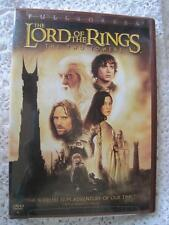 The Lord of the Rings The Two Towers DVD 2003 2-Disc Set Full Frame Two Disc Set