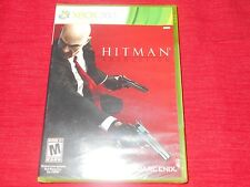 HITMAN   XBOX 360   FACTORY SEALED!!!  FAST FREE SHIPPING!!!  MUST L@@K!!!