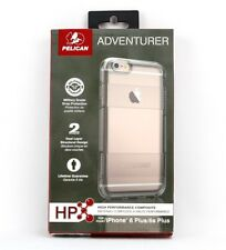New Pelican Adventurer Clear Case For iPhone 6 Plus/6s Plus-Free Shipping