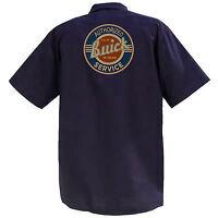 Authorized Buick Service - Mechanics Graphic Work Shirt  Short Sleeve