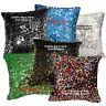 Ga 6mm Sequins ((Pick 1 color of 6) Velvet Cushion Cover/Pillow Case Custom Size