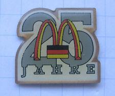 M / 25 JAHRE DEUTSCHLAND ....................Mc Donald´s Pin (103f)