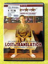 Lost in Translation ~ New Dvd Movie ~ 2003 Bill Murray Scarlett Johansson