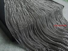5 meter in bulk Stainless Steel Thin Cowboy chain DIY jewelry findings 2mm