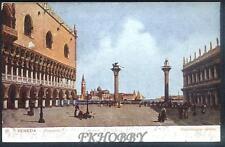 CPA Italia 1905 Venice Venezia Piazetta i36