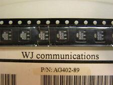 15 WJ AG402-89 InGap HBT Gain Block Amplifier IC's