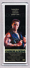 Commando Movie Large Fridge Magnet - Arnie Action Classic
