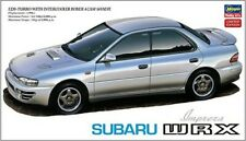 Hasegawa 1:24 Subaru Impreza WRX 4 Door Sedan Model Kit 20333