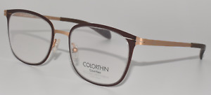NEW EYEGLASSES CALVIN KLEIN CK5425 201 COLORTHIN BROWN / GOLD 50-18-135