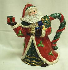 "Santa Claus Teapot 9"" Tall Debco Intl    X1080"