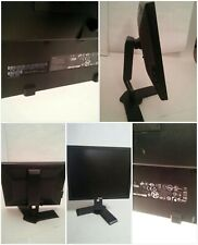 "Dell LCD 19"" Flat Screen Monitor on Adjustable Stand Tilt Pivot Slide"