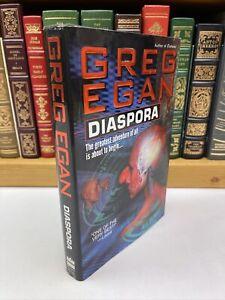 1998 ~ Diaspora ~ Greg Egan ~ 1st Edition Hardcover w/ Dust Jacket