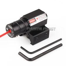 Tactical Red Laser Beam Dot Sight Scope for Gun Rifle Pistol Picatinny Mount JG