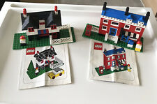 Vintage LEGO Houses - Weetabix Promotional Sets - Not Complete