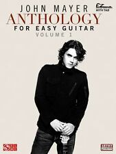 John Mayer Anthology Sheet Music Piano Vocal Guitar - Volume 1 (2010, Paperback)