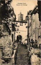 CPA   Cordes (Tarn) -Escalier de l'Horloge  (354641)