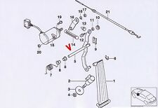 BMW Welle Fahrfusshebel Gaspedal  Bildtafel Pos. #5 3er E36 nur M3 35412228019