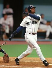 KEN GRIFFEY JR 8X10 PHOTO SEATTLE MARINERS BASEBALL PICTURE MLB SWINGING