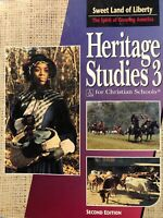 BJU: Bob Jones University: Heritage Studies 3: Second Edition