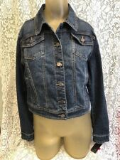 "Women's ""Earl Jean"" Denim Blue Jean Jacket Size PM New with Tags!"