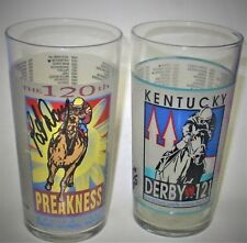 SIGNED  KENTUCKY DERBY GLASS & GLASS AUTOGRAPHED BY PAT DAY - LIMITED EDITIONS
